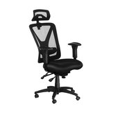 Original              BlitzWolf®  BW-HOC5 Ergonomic Design Office Chair Mesh Chair with Adjustable Armrest Headrest & Lumbar Support Multifunctional Mechanic Large Tilt & Rocking Office Home
