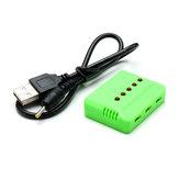 5 IN 1 USB Balance Charger for WLtoys V977 QX90 3.7V Battery