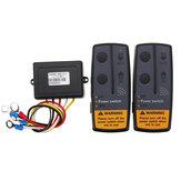 Kit de récupération de télécommande de treuil sans fil numérique 2.4G 12V pour Jeep SUV