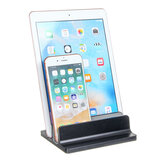 Tavoletta portacomputer portatile verticale in lega di alluminio salvaspazio per tablet Stand Holder per notebook. Smart phone Macbook per iPhone
