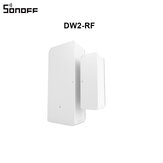 SONOFF DW2-RF 433 Mhz Wireless Door Window Sensor Avvisi di notifica app per allarme di sicurezza domestica intelligente Funziona con SONOFF RF Bridge