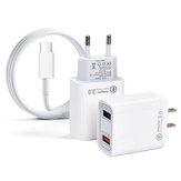 STARTRCデュアルUSBポートホーム急速充電器、DIJ Mavicミニ2ドローン&リモートコントロール用USB充電ケーブル付き