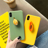 Fashion 3D Candy Color Fruit Pattern Soft TPU Protective Case for iPhone X / XS / XR / XS Max / 7 / 8 / 7 Plus / 8 Plus / 6 / 6S / 6S Plus / 6 Plus