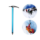 XINDA 75cm Climbing Ice Ax Ice Hammer Glacier Snowy Hatchet Ax EDC Survival Tools Outdoor Camping Hiking