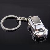Alliage de zinc porte-clés porte-clés voiture suv forme unisexe mode cadeau modèle créatif
