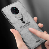 Bakeey for Xiaomi Poco F2 Pro Case Deer Classic Breathable Canvas Cloth Shockproof Protective Case Back Cover