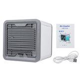 7 Farben LED Mini-Klimaanlage Tragbarer persönlicher Raumluftkühler-Lüfter