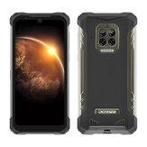Original              DOOGEE S86 Global Bands 6.1 inch IP68&IP69K Waterproof NFC 8500mAh 6GB 128GB Helio P60 16MP AI Quad Camera 4G Smartphone