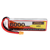 ZOP Power 7.4V 6000mAh 65C 2S Lipo Battery XT60 Plug for RC Quadcopter