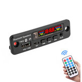 5V Bluetooth 5.0 Decodificador MP3 LED Spectrum Pantalla Decodificación APE Lossless TWS Soporte FM USB AUX EQ Coche Accesorios