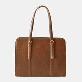 Женская сумка-тоут из искусственной кожи с большим объемом и несколькими карманами Повседневная деловая трансформируемая сумка-тоут чере