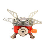 Folding Camping Stove Outdoor Picnic BBQ Cooking Stove Gas Burners Furnace