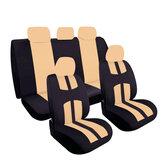 Универсальный полный комплект Авто Чехлы на сиденья для грузовика SUV 5 головок бежевый / синий / красный / серый