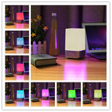 SOLMORE Dimmable USB RGB Color Changing Table Décoration intérieure LED À côté de Lamp Night Light Alarm Clock