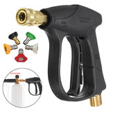 Car Motorcycle Bicycles 200BAR/3000PSI High Pressure Washer Gun with 5 Nozzles