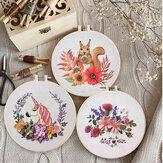 DIY вышивка Набор Multi Flower Шаблон Набор для вышивания крестиком Рукоделие