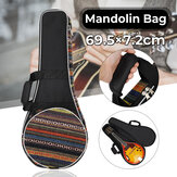Mandolin Bag Cotton Padded Thickened Organizer Portable Storage Case Cover Musical Instrument Accessories for Travel