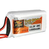 ZOP Power 11.1V 1000MAH 20C 3S Lipo Bateria JST Plug