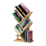 Estante de almacenamiento de color creativo Estante de 3 capas en forma de árbol Estante de almacenamiento de escritorio de estante simple para oficina en casa
