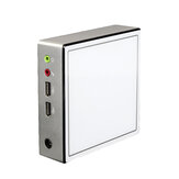 XCY X37 Mini PC Intel Celeron 2955U Barebone Dual Core 2 Threads Windows 10 Linux DDR3L 1.40GHz 300M WiFi Ultra Compact Desktop Computer Box SATA mSATA MIC VGA HDMI