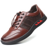 Men Soft Genuine Leather Comfy Wearable Casual Shoes