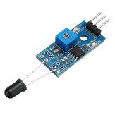10 stks LM393 3-pins IR vlamdetectiesensor module brandmelder infrarood ontvanger module Geekcreit voor Arduino - producten die werken met officiële Arduino boards