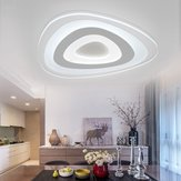 35W Modern Ultrathin LED Flush Mount Ceiling Light 3 cores ajustáveis ​​para sala de estar Home