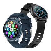 [Bluetooth-oproep] Bakeey CF22 7x24h Hartslagmeter Bloeddruk Oyxgen Meten Weerweergave Muziekbediening Smart Watch