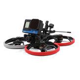 GEPRC CineLog30 Analog 126mm 3 İnç 4S FPV Yarış Drone PNP BNF w/ F4 AIO 35A ESC 600mW VTX Caddx Ratel 2 1200TVL Kamera