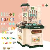 Keuken Plastic speelgoed Keuken Grote keuken Kooksimulatie Speel educatief speelgoed voor babymeisje speelgoed cadeau
