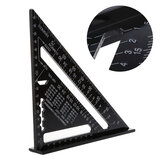 7 Inch Aluminum Triangle Ruler Speed Square Rafter Angle Miter Protractor Measuring
