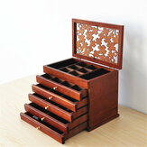 Retro Storage Jewelry Wooden Boxes