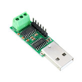USB to Serial Port Multi-function Converter Module RS232 TTL CH340 SP232 IC Win10 for Pro Mini STM32 AVR PLC PTZ Modubs