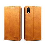 BakeeyCustodiaprotettivaperiPhoneXR Magnetica Portafoglio Flip Portafoglio Tasca portaoggetti Tasca intera