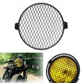 6.4 inch 16cm Universal Retro Motorcycle Motor Bike Headlight Máscara Cover Grill Round