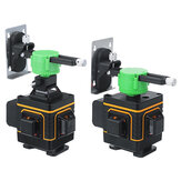 16/12 Line 3D Green Light Laser Level Self Leveling 360° Rotary Measure Machine