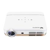 Wowoto H10 DLP Projetor Inteligente 4500 Lumens 1280x800P 1000: 1 Relação de Contraste Suporta 4K Wifi Bluetooth Projetor