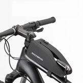 ROCKBROS AS-021 Torba rowerowa Torba na przednią rurę rowerową Wodoodporna torba na telefon Kolarstwo górskie na rower szosowy MTB