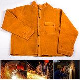L/ XL/ XXL/ XXXL Welders Welding Jacket Protective Clothing Apparel Suit Safety