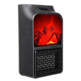 1000W Eléctrico Portátil Calentador Calentamiento rápido PTC Cerámico Calefacción de poco ruido para la oficina en casa