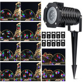 10 Patrón LED Láser Landscape Proyector Light Halloween Christmas Party UK EU US AU Plug