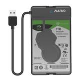 MAIWO K105 2,5-дюймовый корпус жесткого диска USB 3.0 Твердотельный накопитель SATA Чехол Инструмент Бесплатно для жесткого диска SSD менее 9,5 мм