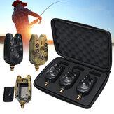 1/3 Pcs Fishing Bite Alarm Blue Indicator Light Sound Alert Fishing Tackle Outdoor Hunting