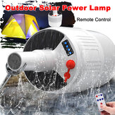 Solar Powered Shed 24/42LED Light Bulb Rechargeable Portable Hanging Hook Tent Camping Emergency Lamp