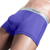 Scrotum Separation Boxer Briefs Mesh Breathable Underwear