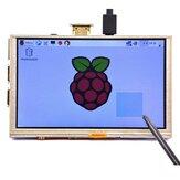 5 İnç 800 x 480 HD TFT LCD Dokunmatik Ekran için Raspberry PI 3 Model B/2 Model B/B+/A+ / B