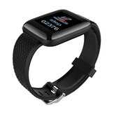 USB Charging Pedometer Activity Tracker Blood Pressure Heart Rate Monitor Smart Watch