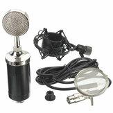 Microfone condensador de gravação de estúdio de microfone profissional