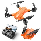 HR H9 Mini 2.4G WiFi FPV with 4K HD Dual Camera 20mins Flight Time Altitude Hold Mode Foldable RC Drone Quadcopter RTF