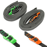 IPRee Outdoor Camp Binding Rope Tie-Up Ribbon verstelbare Trekker riem met gesp haak voor Reisbagage